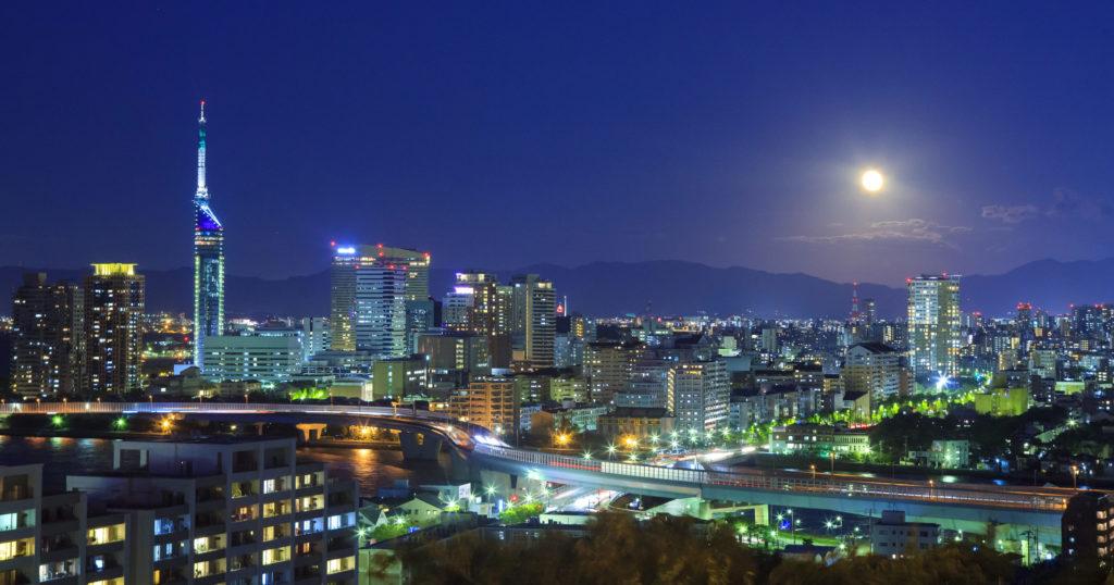 福岡市 夜景