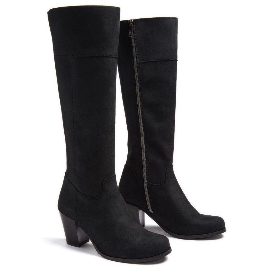wills vegan heeled boots