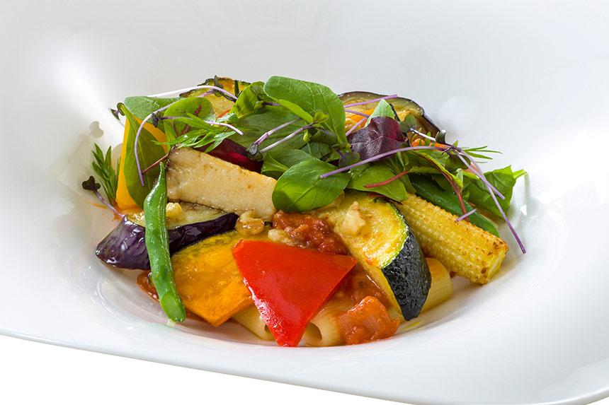 ミッレリーゲ、ベジタブルのトマトソースの画像 リストランテ・ディ・カナレット