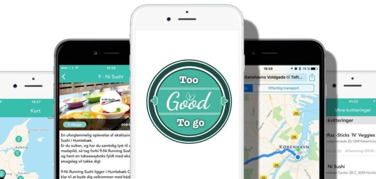 """デンマーク発、お得にフードロスを減らせるアプリ""""Too Good To Go""""を解説"""