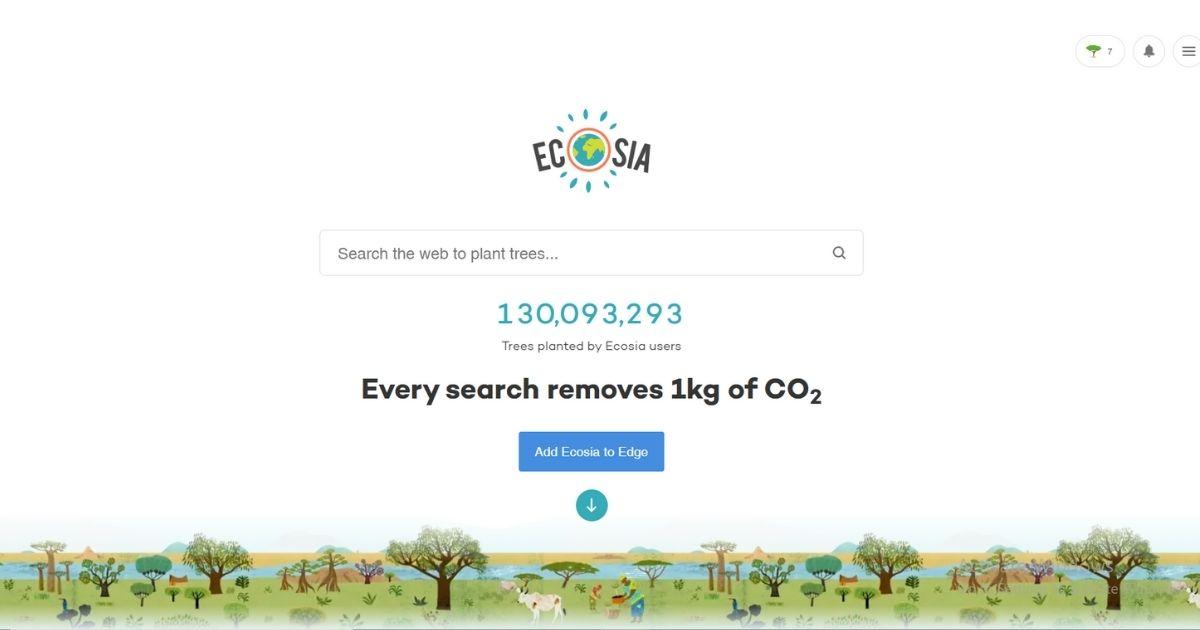 「木を植えるサーチエンジン」のEcosia(エコシア)とは?